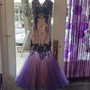 Terani couture size 2 mermaid pageant prom